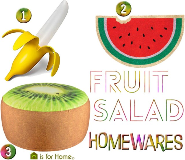 Fruit salad homewares | H is for Home