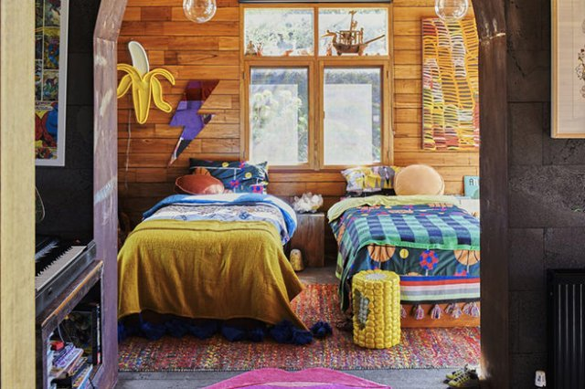 Funky boy's bedroom