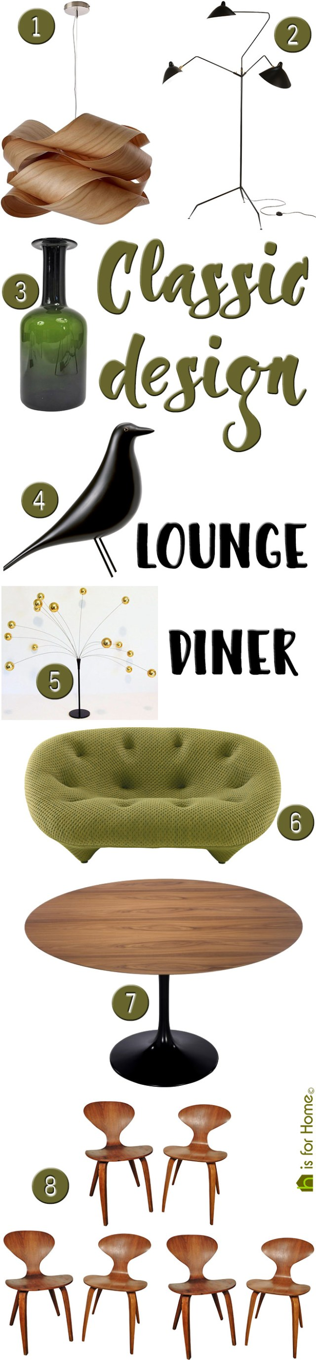 Get their look: Classic design lounge diner | H is for Home