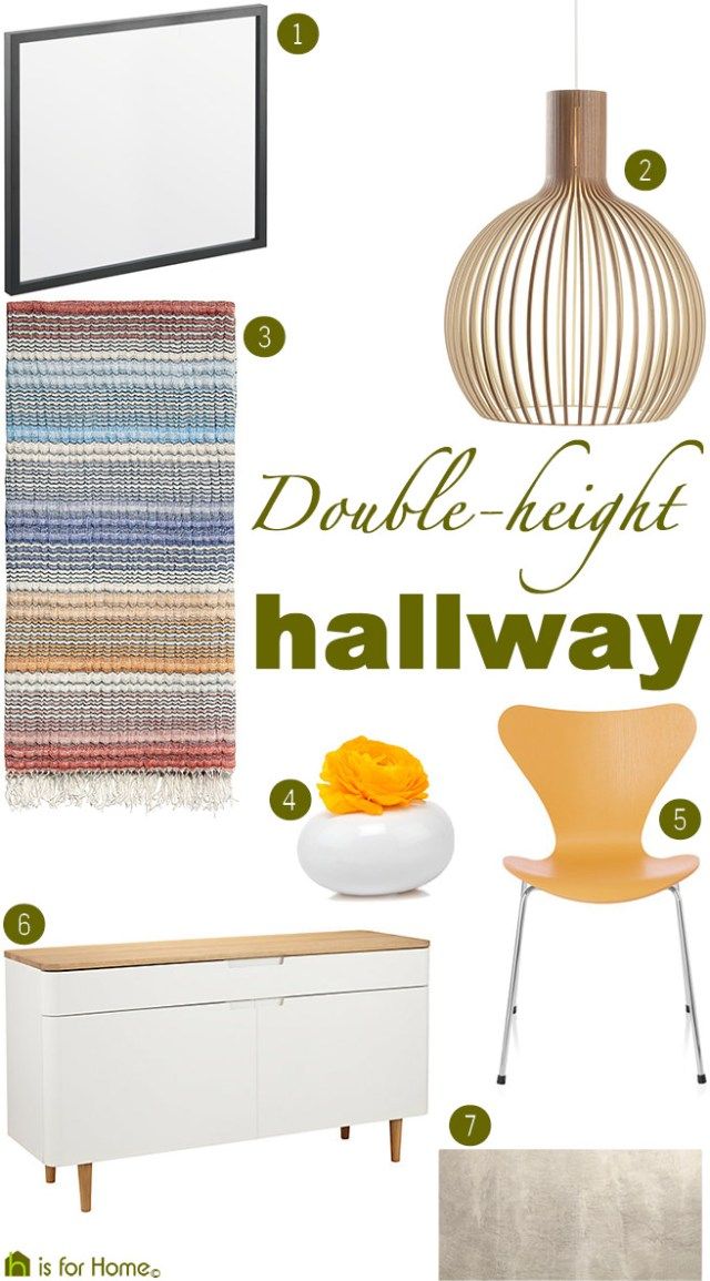Get their look: Double-height hallway | H is for Home