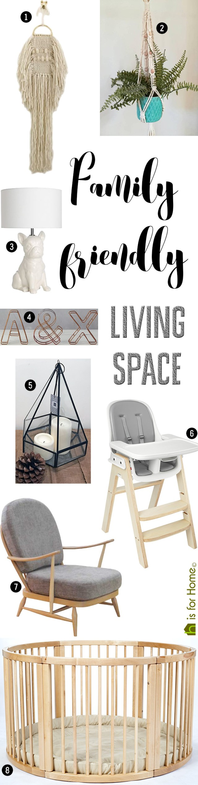 Get their look: Family friendly living space | H is for Home