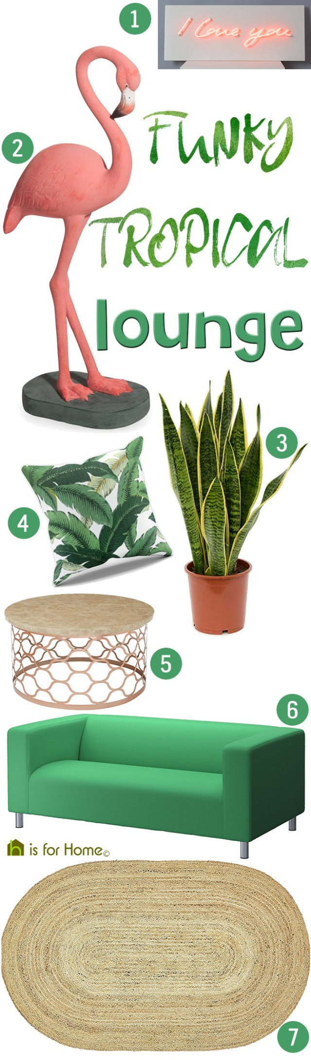 Get their look: Funky tropical lounge | H is for Home