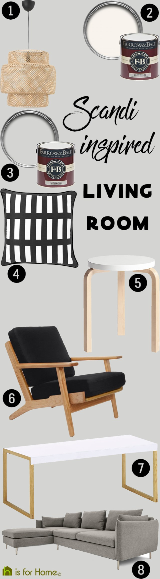 Get their look: Scandi inspired living room