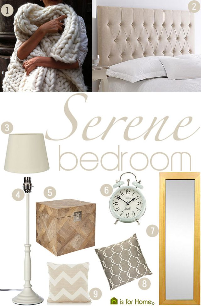 Get their look: Serene bedroom | H is for Home