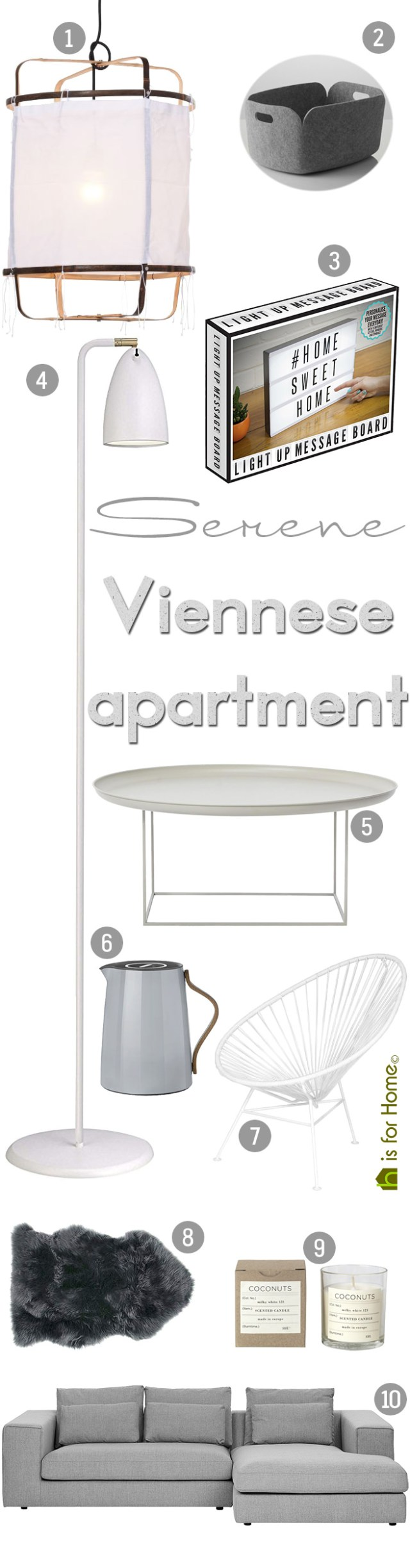 Get their look: Serene Viennese apartment | H is for Home