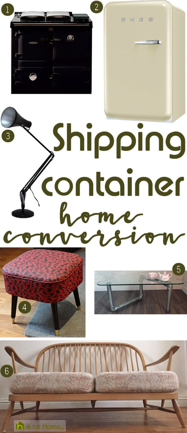 Get their look: Shipping container home conversion | H is for Home