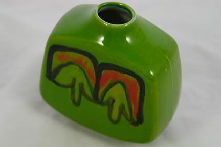 Vintage Poole Pottery Delphis vase | H is for Home