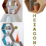 Price Points: Hexagonal shelves