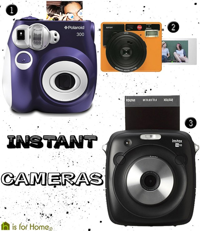 Instant cameras   H is for Home
