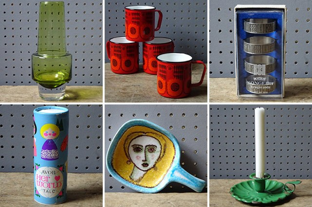 International vintage homewares | H is for Home