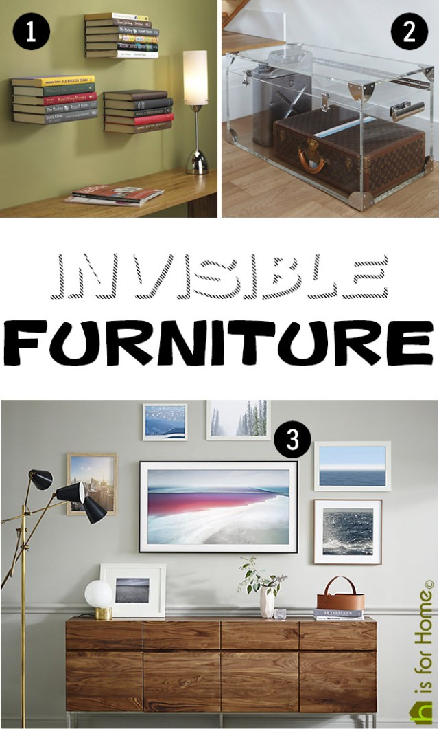 Invisible furniture | H is for Home