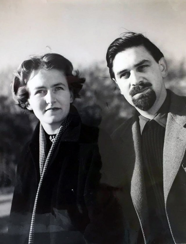 Portrait of John and Sylvia Reid