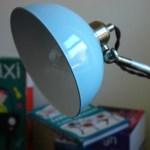 Aqua desk lamp