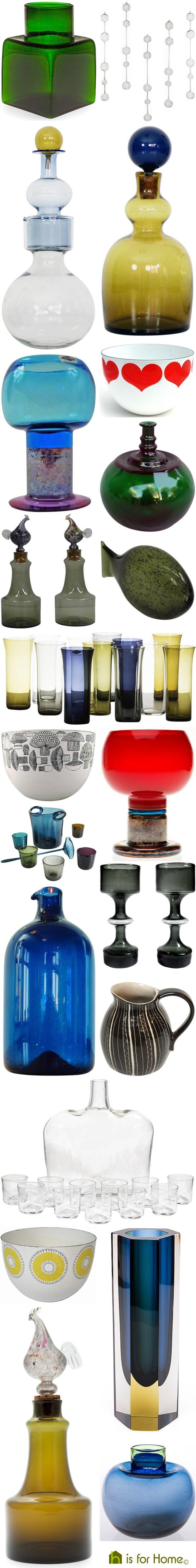 Mosaic of Kaj Franck designs   H is for Home