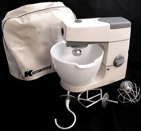 Charity Vintage: Kenwood mixer - H is for Home Harbinger