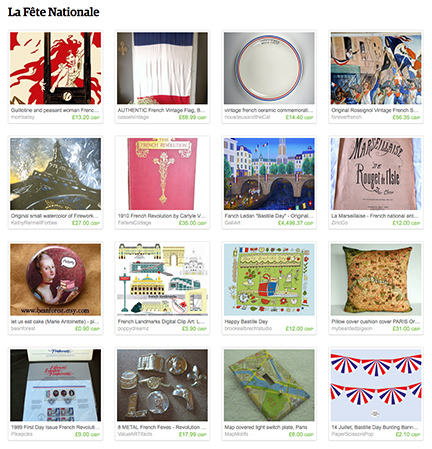 La Fête Nationale Etsy List curated by H is for Home