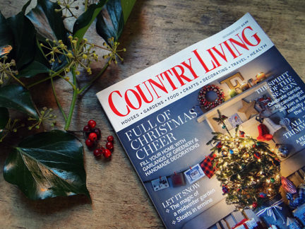 Country Living Christmas magazine cover