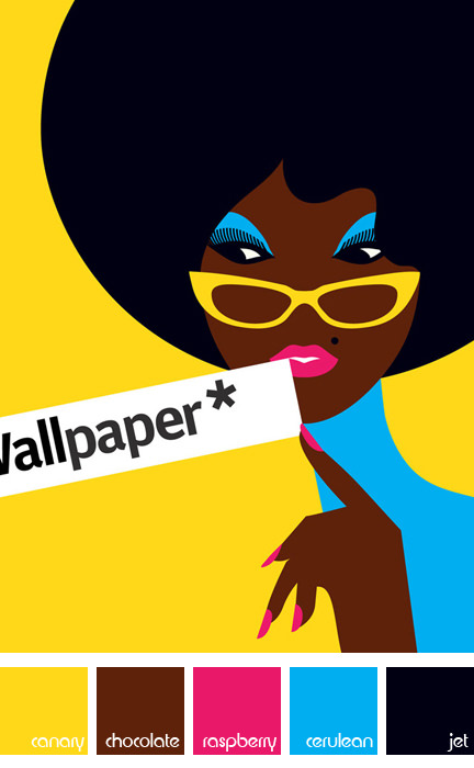 Development illustration by Malika Favre for Wallpaper Magazine | H is for Home