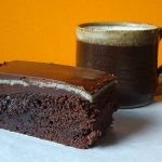 Cakes & Bakes: Marzipan chocolate brownies