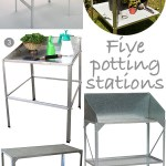 Gimme Five! Metal potting stations