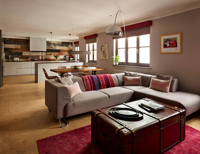 Get Their Look Open Plan Kitchen Diner Lounge H Is For