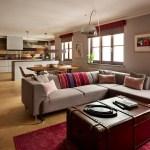 Get their look: Open-plan kitchen diner lounge