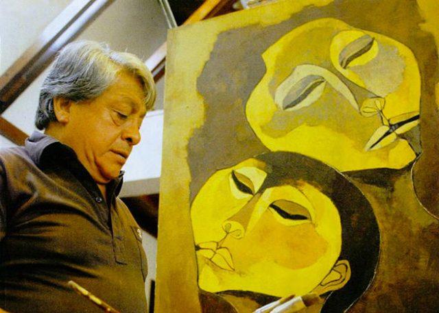 Portrait of Oswaldo Guayasamín