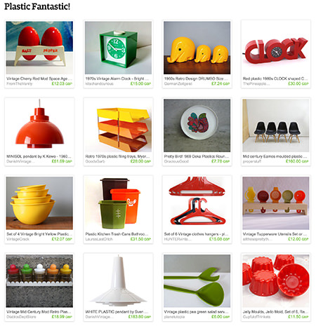 'Plastic Fantastic' Etsy List curated by H is for Home