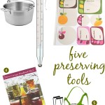 Gimme Five! Preserving tools