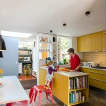 Get their look: Primary colours kitchen
