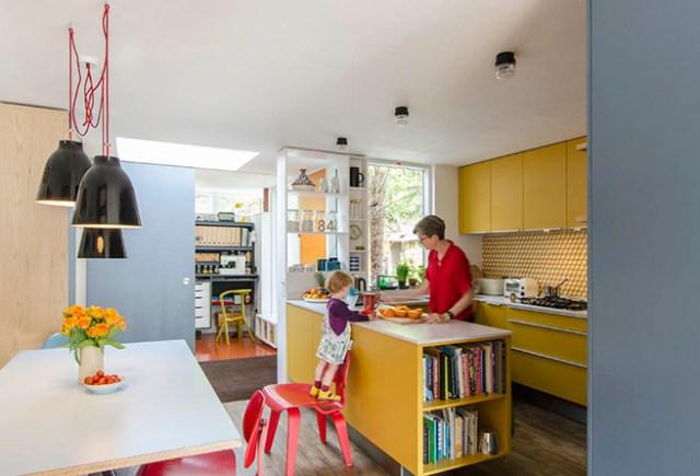 Primary colours kitchen