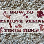 How to remove stains from rugs