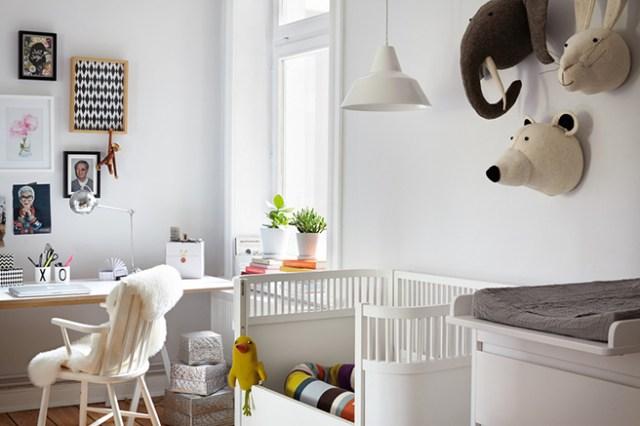 Shared office nursery