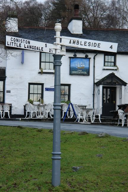 Britannia Inn, Elterwater, Lake District, Cumbria | H is for Home