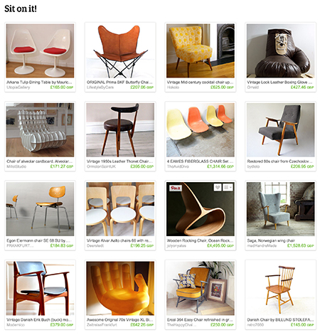 "'Sit on it!"" Etsy List curated by H is for Home"