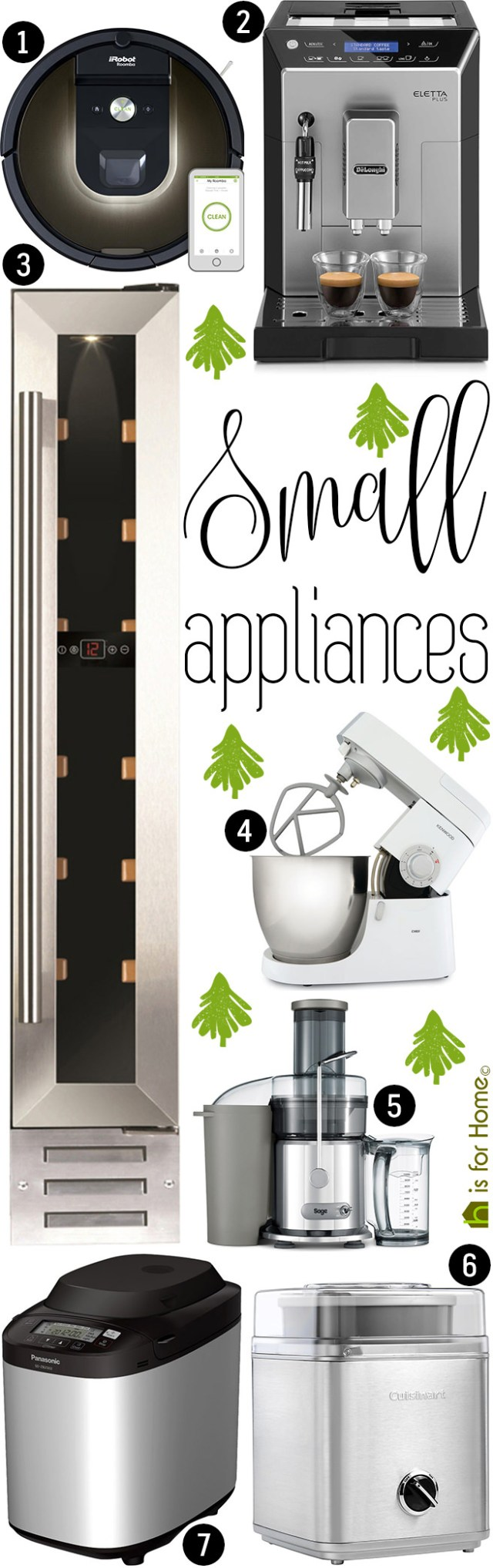 Selection of small appliances | H is for Home