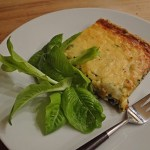 Cakes & Bakes: Spinach, cheese & onion tart