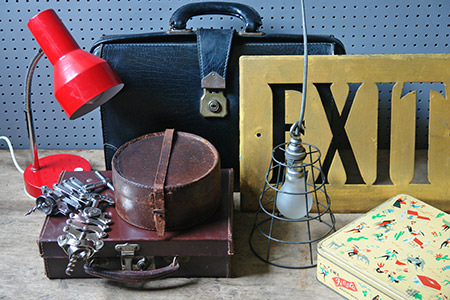 Vintage shop items | H is for Home
