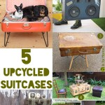 Gimme Five! Upcycled suitcases