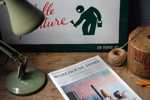 Warehouse Home newspaper vignette | H is for Home