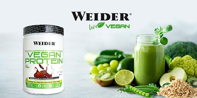 Proteina weider vegan