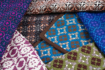 Welsh wool selection