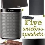 Gimme Five! Wireless speakers