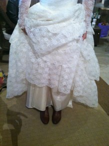 These boots were made for weddin!
