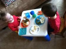 Big kid table.