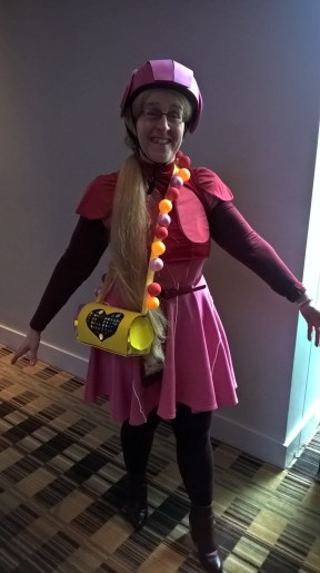 Liz as Honey Lemon (Big Hero 6).