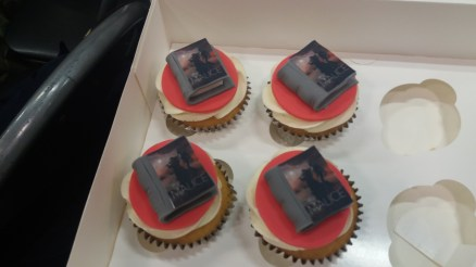 The Malice, Published in Cupcake format (They were delicious - and are now out of print!)