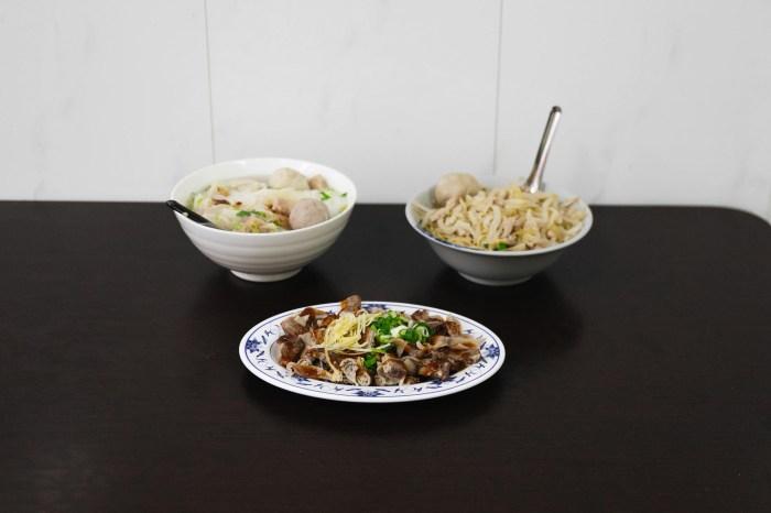 原巷子麵(原忠貞新村麵)|新竹|小吃 清大夜市裡眷村巷口懷念的老味道。