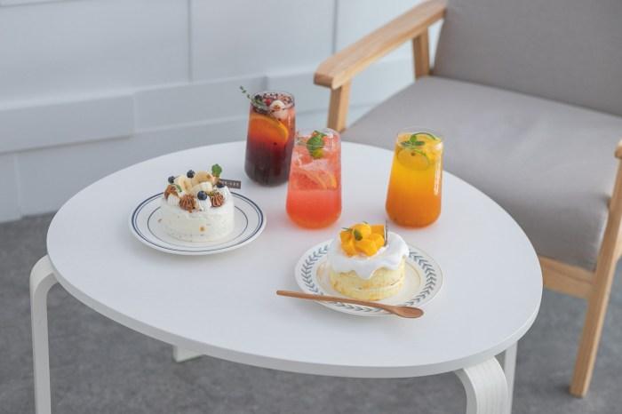 新竹美食|宅梗小食光 走進溫暖潔白的屋子裡,享受最新夏季菜單的美味。