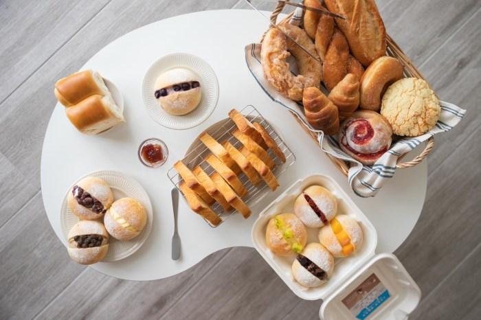 新竹美食  竹北思源麵包店 在地人最愛麵包,推出夏季新品噗啾雪球。